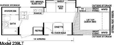 2007 Skyline Aljo Lite 239LT Floorplan