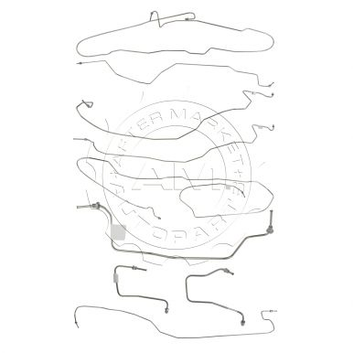 GMC Sierra 1500 Brake Hoses, Lines, and Fittings at AM