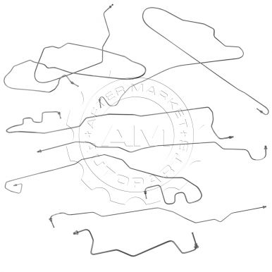 Chevy Silverado 1500 HD Brake Hoses, Lines, and Fittings