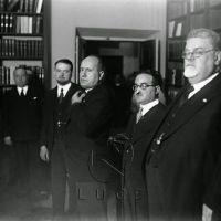 Mussolini alla Casa Bianca
