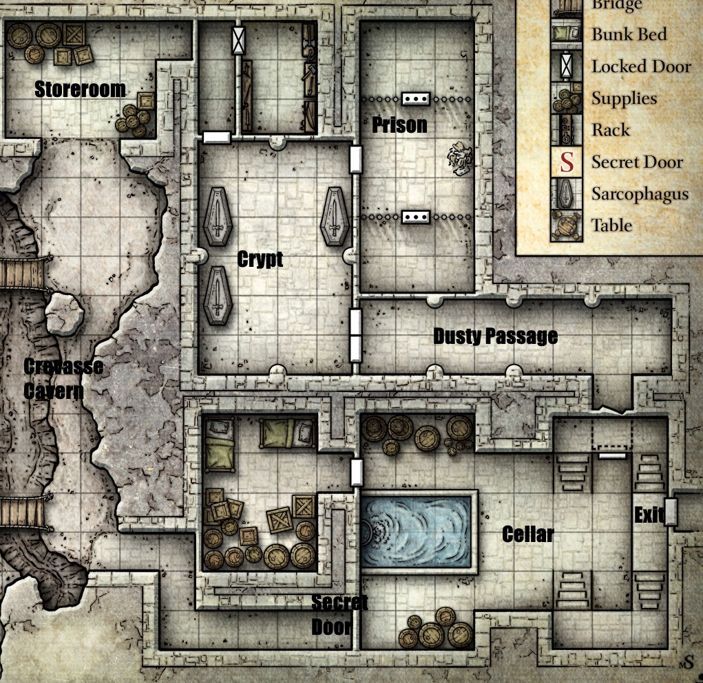 graphic regarding Redbrand Hideout Map Printable referred to as Crimson Model Hideout Barracks - Studying Mars