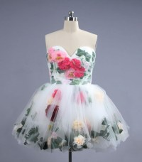 Ball Gown Homecoming Dresses,Poofy Dress Short,Sweetheart ...