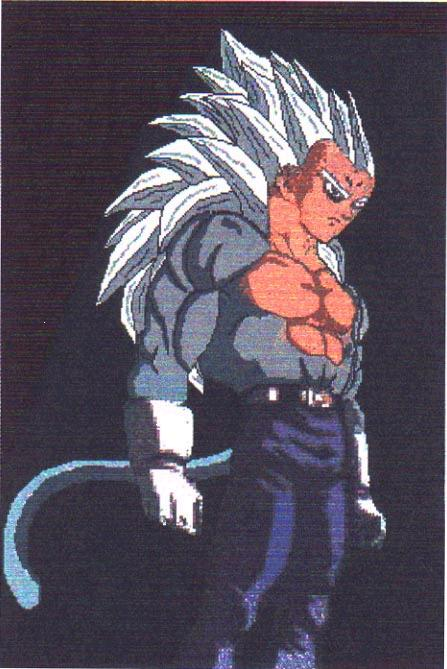Signature Move: Spirit Kame Candy Flash Cannon Forms: Super Saiyan 1,