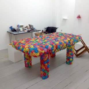 table, resting