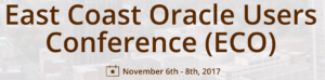 East Coast Oracle User Group, (ECO)