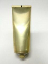 tube alu gold 120ml fr0005-120ml อลูทอง #40 เฉพาะหลอดอลูทอง fr0005 120ml คอ40 ก้น6.2cm สูง13.8