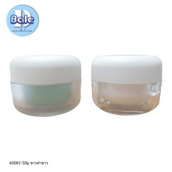 k0081-50g ขาวฝาขาว กระปุกเกาหลี cloud