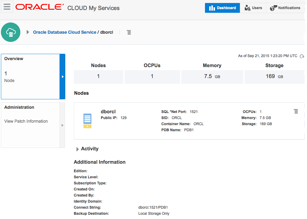 Connecting ODI 12c to Oracle Public Cloud (OPC)