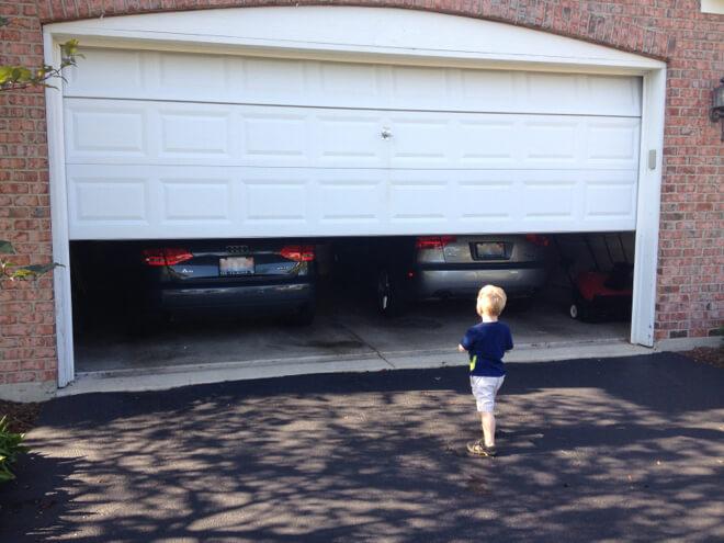 My Garage Door Wont Close Do I Need A New One  DBar Garage Door