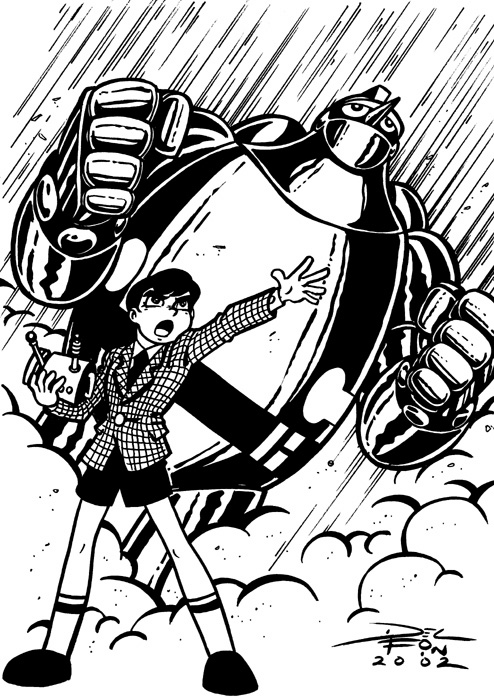 Could GIGANTOR TETSUJIN 28 GO GIANT ROBO And BIG O Exist In The Same Universe