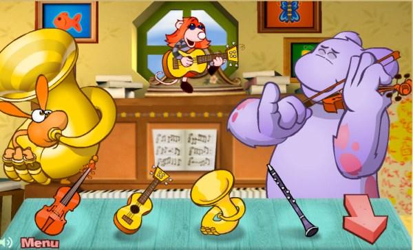 Cbeebies 'Big and Small' music game | dbda