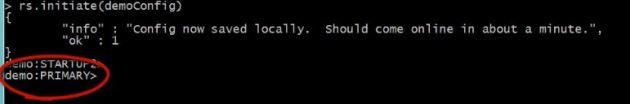 Configuration of replicaSet in mongodb