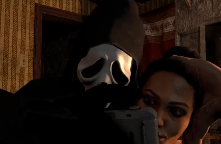 jane romero ghostface myers threesome selfie