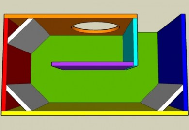 Transmission Line Speaker Design Calculator