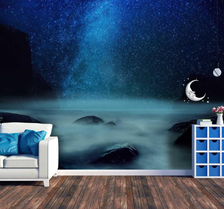 Descubrí la mejor forma de comprar. Adesivo Murale Cielo Costo Cielo Notturno Tenstickers