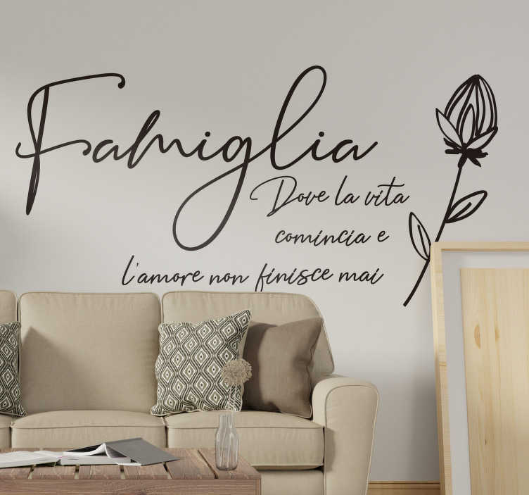 Tantissime idee per decorare le superfici di casa con frasi adesive. Adesivi Murali Frasi Per Tutti Gli Stili Tenstickers