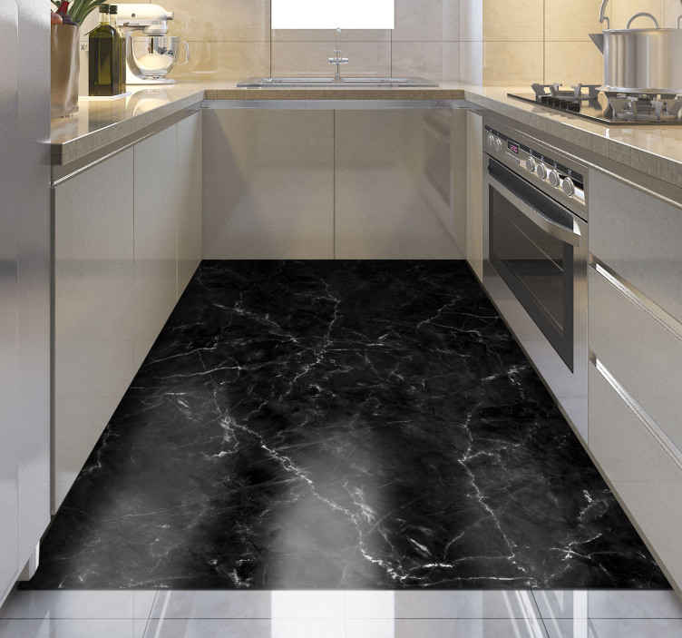 kitchen black marble kitchen flooring