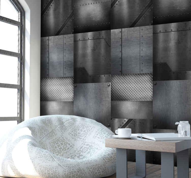 tapisserie moderne mur en laiton