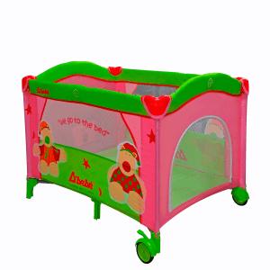 Corral infantil rosa