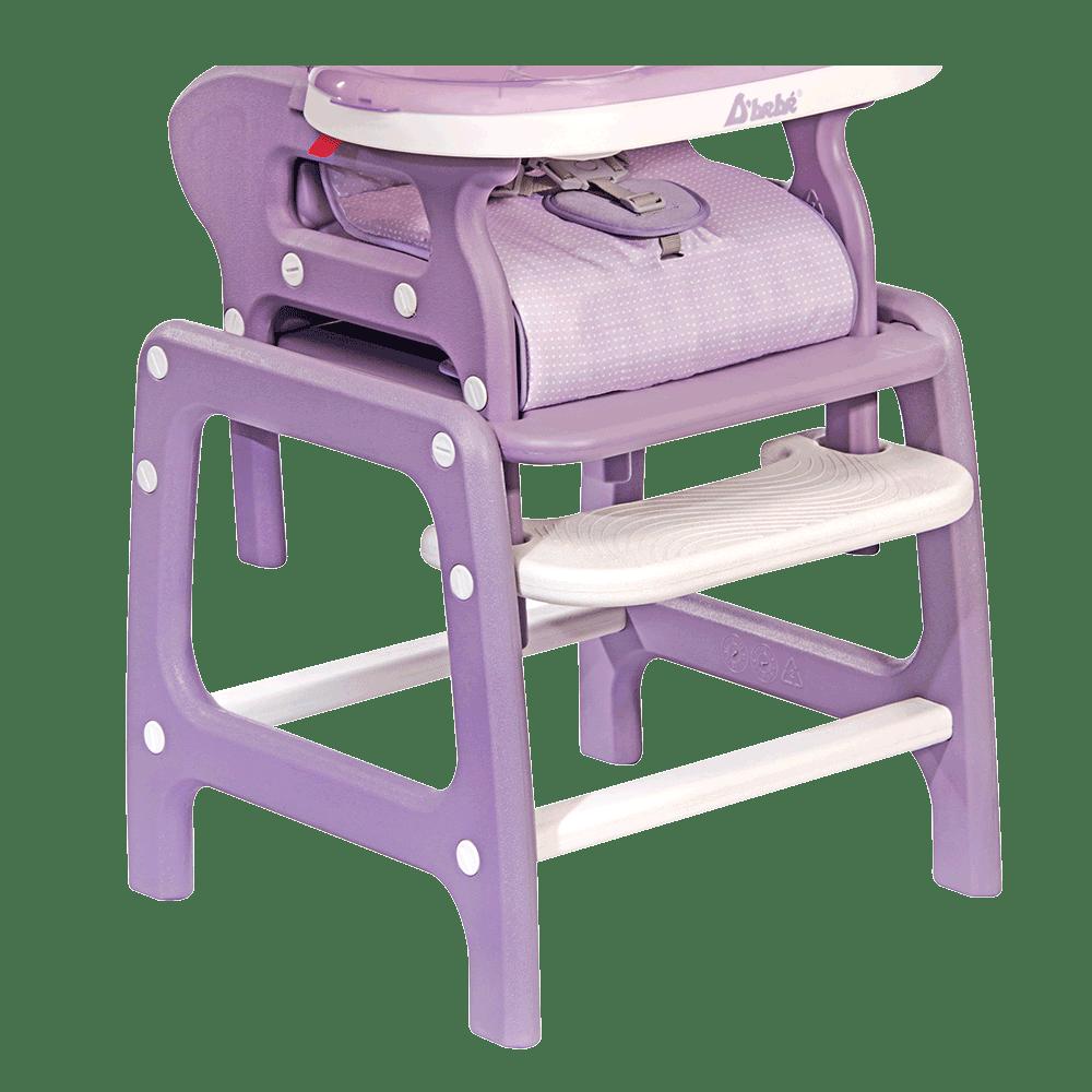 D'bebe silla alta estabilidad