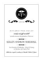 Nursing Graduation Announcements & Graduation Invitations