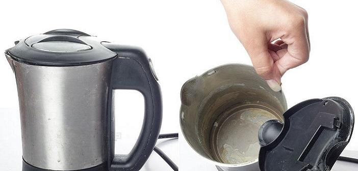 Elektrikli Su Isıtıcısı (Kettle) Nasıl Temizlenir 26