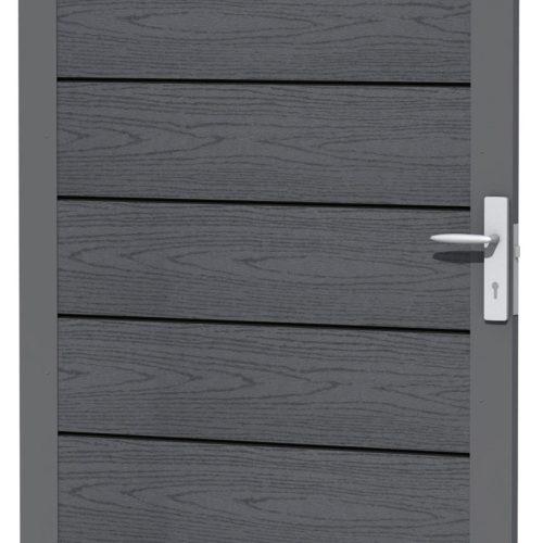 23685-Basic-composiet-deur-houtmotief-antraciet-omheiningen