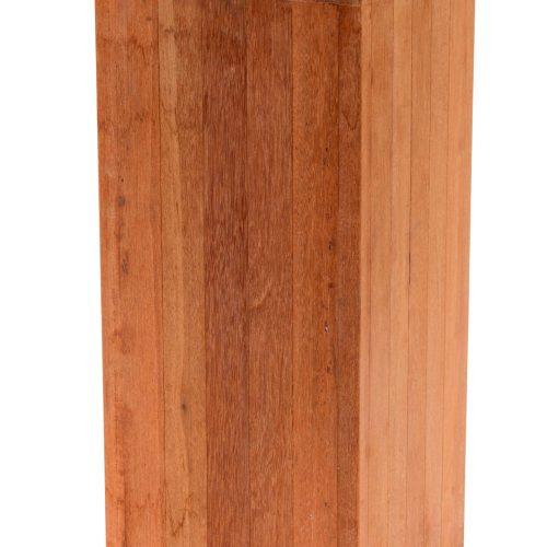 639000-basic-Hardhouten Pilaar bloembak