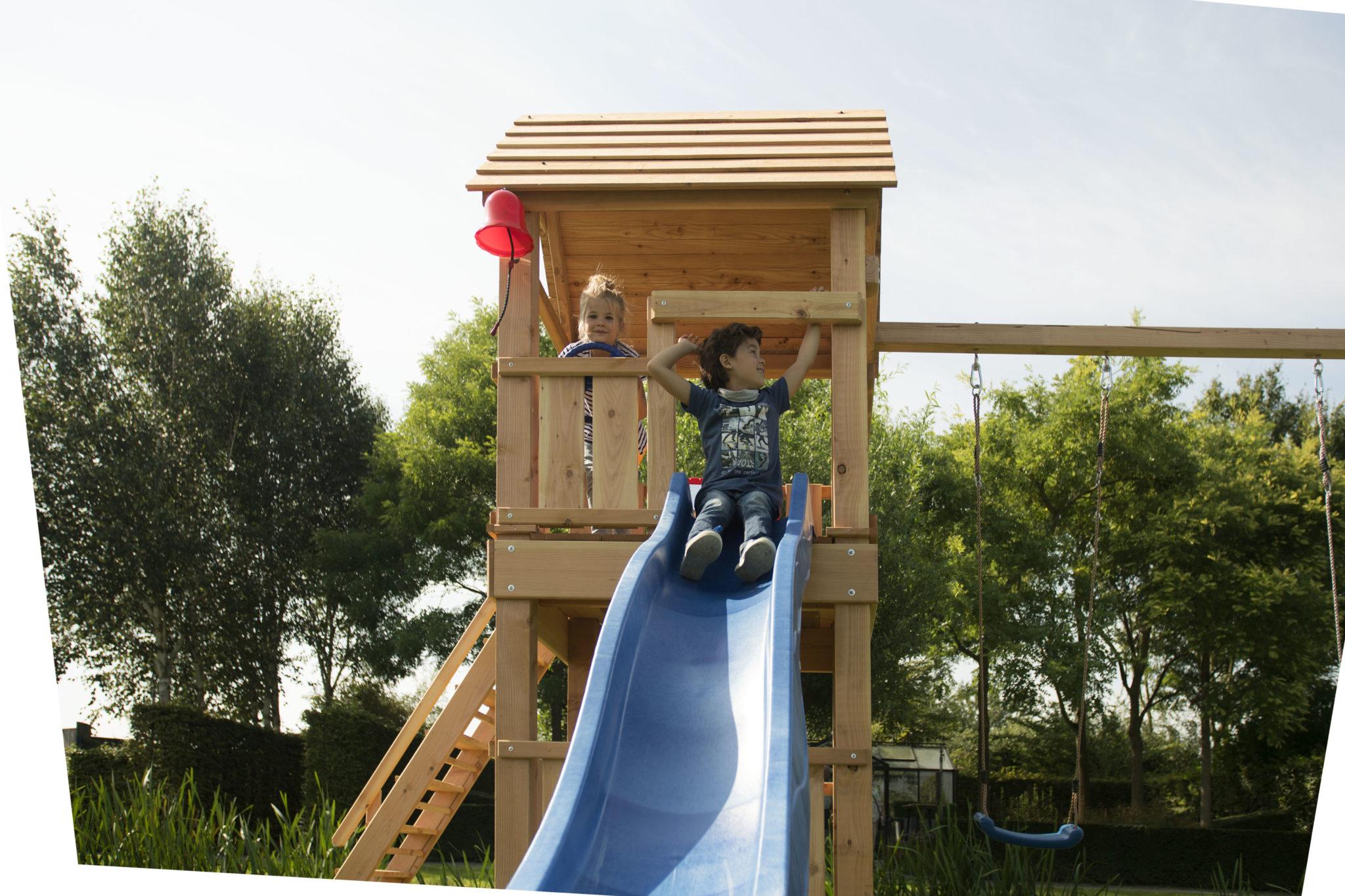Speeltoestel Kleine Tuin : Hillhout douglas speeltoestel maki groen geïmpregneerd