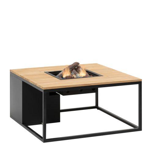 5957860 - Cosiloft 100 lounge table black-teak - side