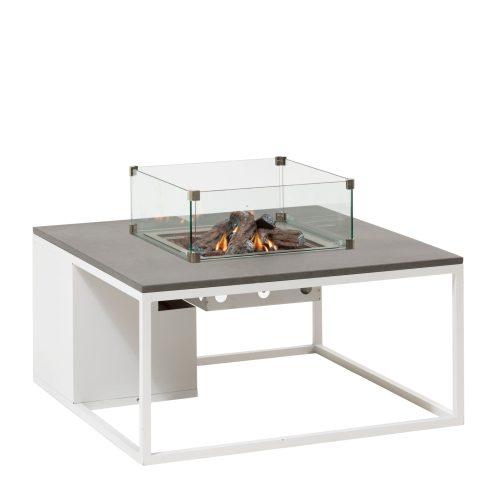 5957880 - Cosiloft 100 lounge table white-grey - glass - side