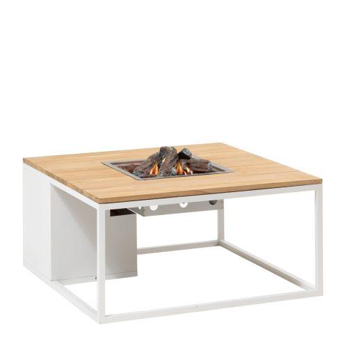 5957890 - Cosiloft 100 lounge table white-teak - side