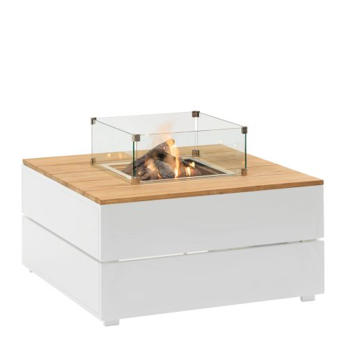 5981010 - Cosipure 100 white-teak - glass set M - side