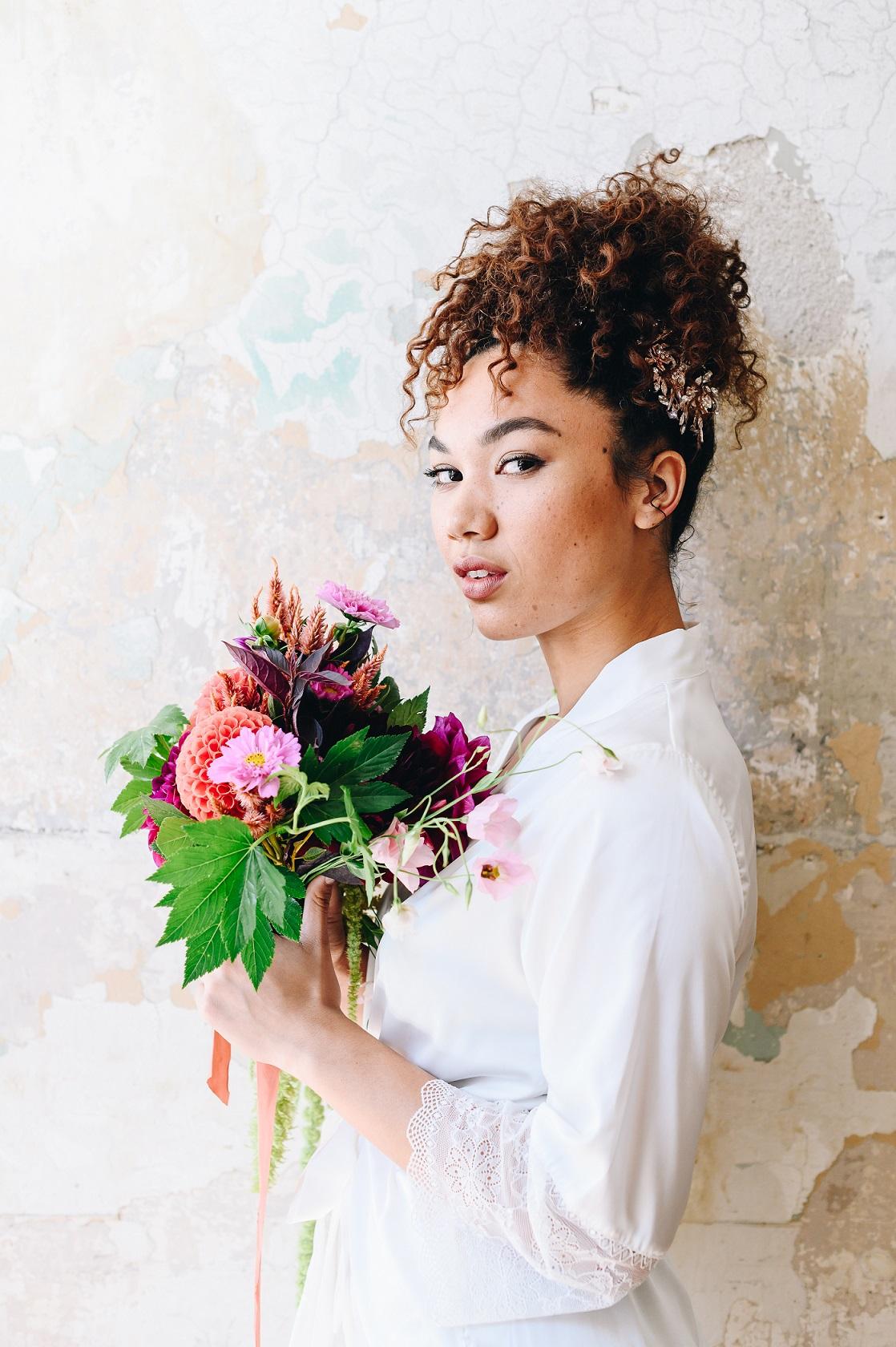 Wedding Hairstyles For Naturally Curly Hair David S Bridal Blog