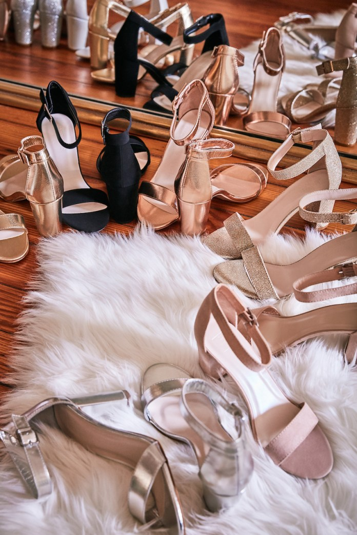 Arya shoes in all colors for brides