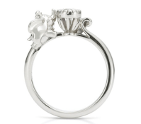15 Awesome Disney Engagement Rings - The Little Mermaid Ring