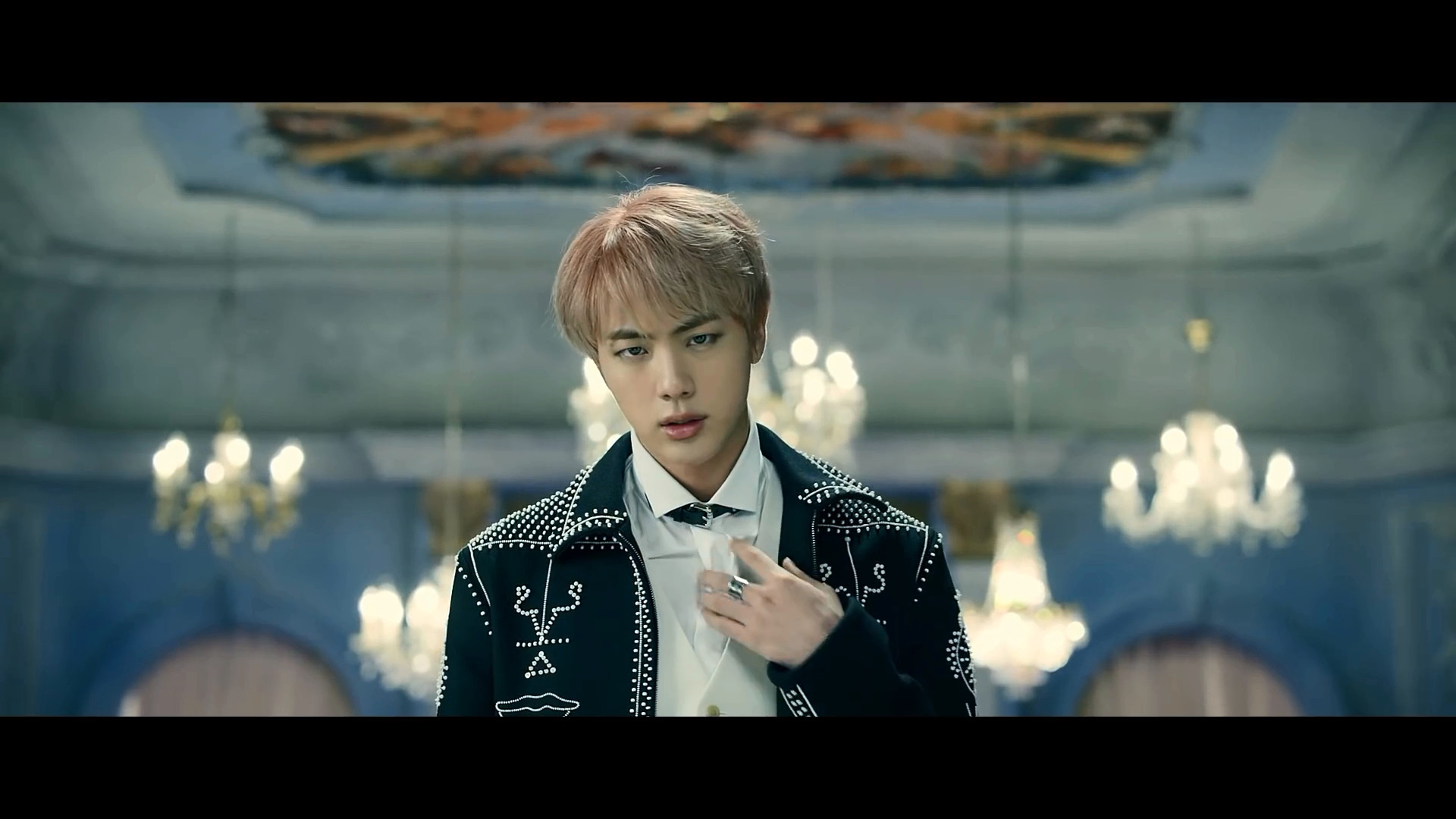 Image result for bts jin blood sweat and tears