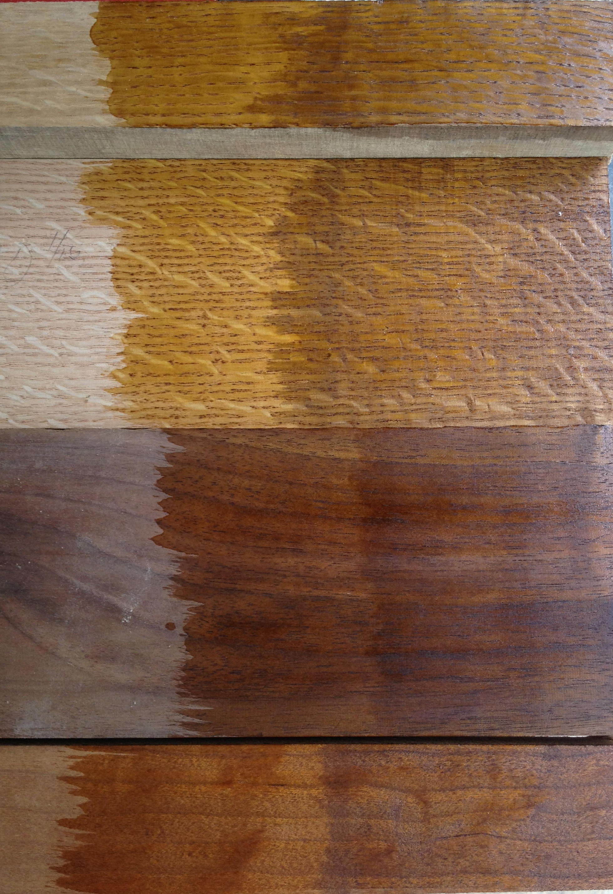 Chestnut Stain On Pine