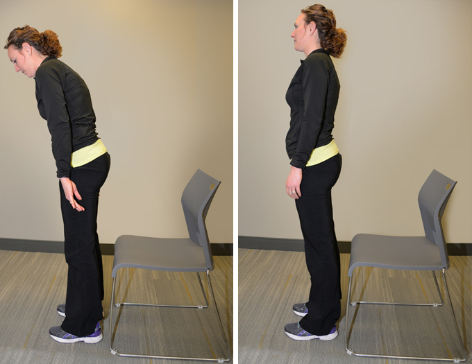 posture alignment chair covers for recliner sofas body mechanics mayfield brain spine cincinnati ohio sit to stand place your feet so that toes and knees are in line bend forward nose is over push up from the with a controlled
