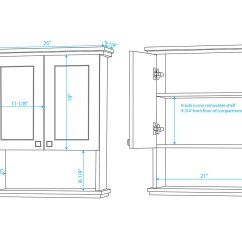 Wall Cabinet Sizes For Kitchen Cabinets Mobile Home Remodel Acclaim Espresso Bathgems