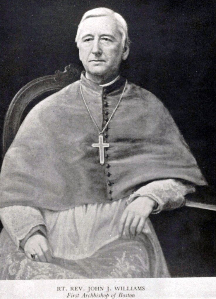 Portrait of Archbishop John Joseph Williams