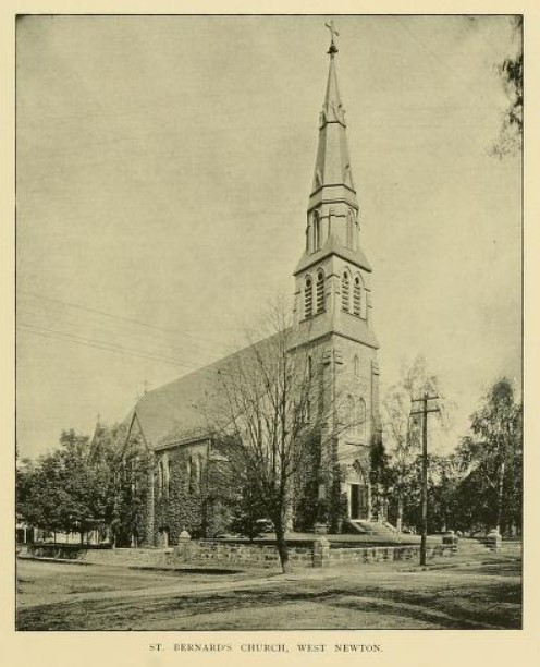 black and white picture of a church