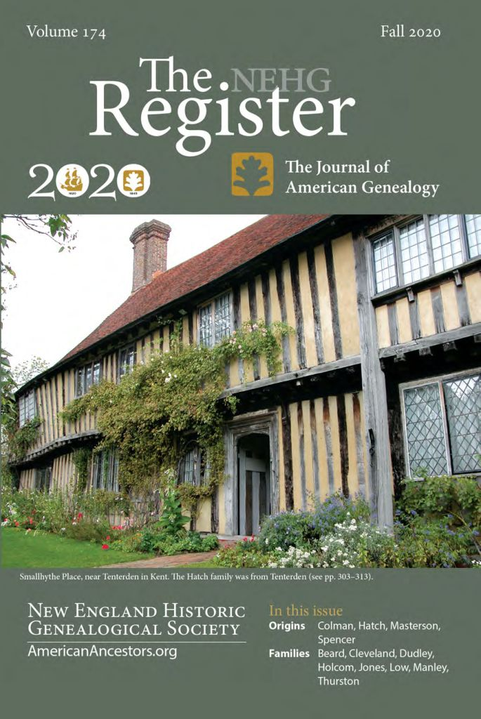Magazine cover with Tudor house