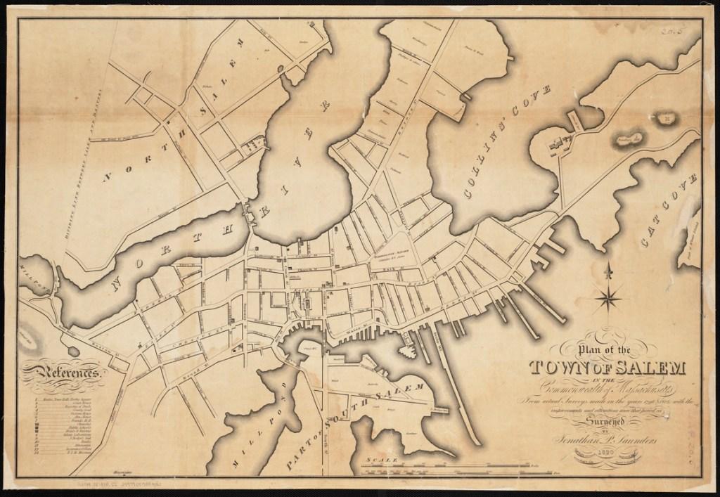 Printed map