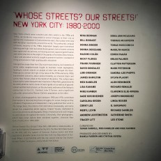 """""""Whose Streets? Our Streets!"""" is a photography exhibit at the Bronx Documentary Center that features images of activism from NYC from 1980-2000."""