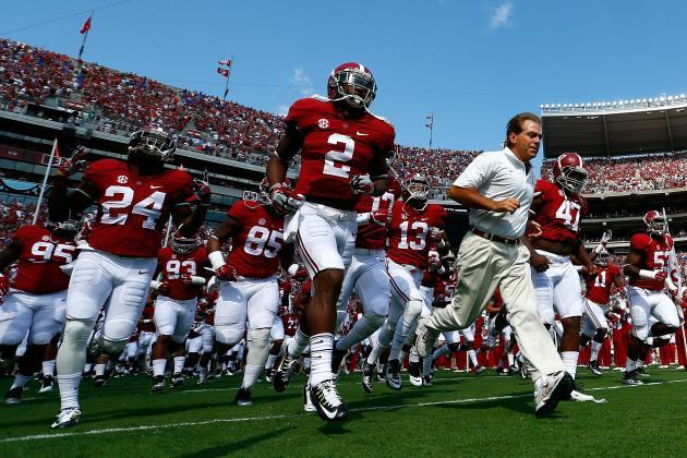 Free College Football Pick: Alabama vs. USC
