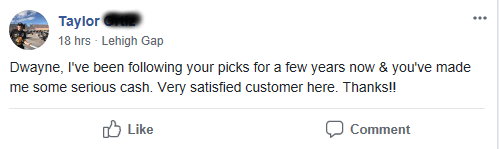 "Client Testimonial: ""Very satisfied customer"""