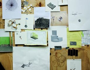 Detail of Marcelo Cidade and Andre Komatsu's studio, Sao Paulo,Marcelo Cidade, Andre Komatsu