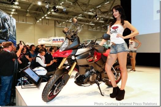 Pressekonferenz: Suzuki, Neuheit: V-Storm 1000, Motorrad, Halle 7