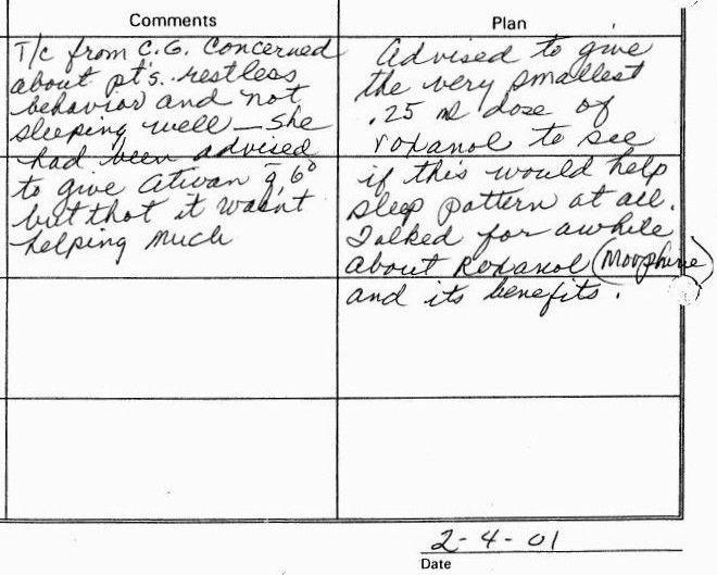 2001-02-04-1100a-nursing-on-call-documentation-hospice-sw
